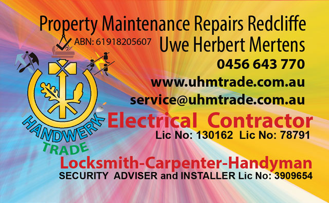 Handyman And Property Maintenance Mobile Business Cairns